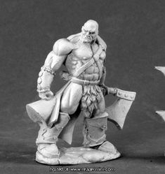 Dark Heaven Legends > Goldar the Barbarian  Reaper Miniatures :: Miniatures