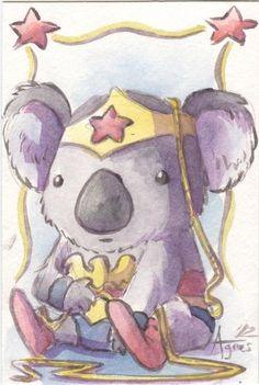 Wonder Woman koala