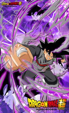 Poster Goku Black by jaredsongohan on @DeviantArt                                                                                                                                                                                 More