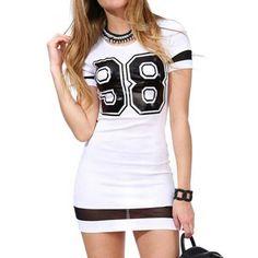 Women Dress Summer Casual Short Sleeve 98 Printed Lady Slim Sexy Mesh Patchwork Sheath Mini Dress bodycon vestidos Plus size Y1