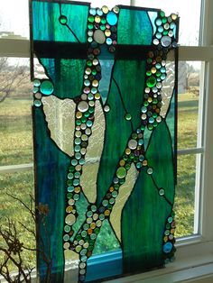 Stained Glass Abstract Transom Window Panel Valance 30 x 15 Faux Stained Glass, Stained Glass Designs, Stained Glass Projects, Stained Glass Patterns, Stained Glass Windows, Modern Stained Glass Panels, Mosaic Art, Mosaic Glass, Mosaics