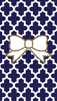 Navy blue and gold glitter bow FREE Tech wallpaper background iPhone android moroccan pattern Gold Wallpaper Phone, Monogram Wallpaper, Bow Wallpaper, Chevron Wallpaper, Wallpaper For Your Phone, Cellphone Wallpaper, Screen Wallpaper, Pattern Wallpaper, Wallpaper Backgrounds