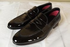 75c517f3747 Tom Ford Black Leather Tuxedo Dress Shoes 8.5 T New in Box Patent Tux Gucci