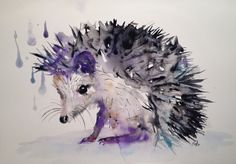 Kristina Brozicevic WATERCOLOR  Order an oil painting of your pet now at www.petsinportrait.com