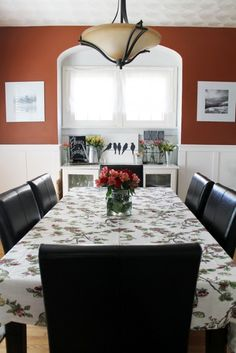 The Most Cheerful Dining Room Color Ideas | Spring dining room design