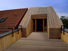 Extension en bois HQE, Arcueil, T Design Architecture - Realisation