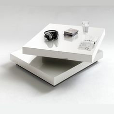 salontafels vierkant grijs of wit
