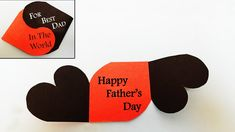 Fathers Day Crafts, Happy Fathers Day, Easy Father's Day Gifts, Card Ideas, Gift Ideas, Father's Day Diy, The Creator, Greeting Cards, Handmade Gifts