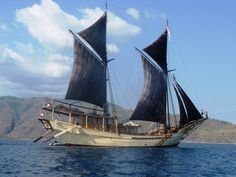 Centuries ago, the precursor to the Indonesian Phinisi sailing ship, plied the…