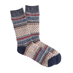 Anonymous Ism small Fair Isle socks