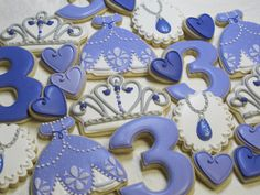 Princess Sofia Decorated Sugar Cookie Collection