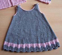 Ravelry: Robe dentelle pattern by La Droguerie