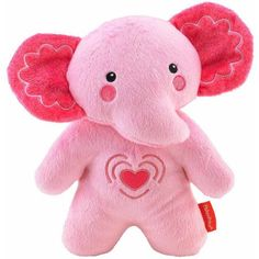 Fisher-Price Elephant Soother, Pink - Walmart.com