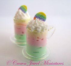 Crown Jewel Miniatures Rainbow Parfaits