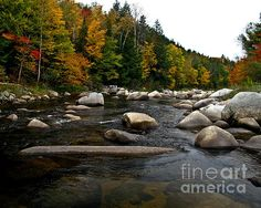 Israel River New Hampshire Photograph  - Israel River New Hampshire Fine Art Print
