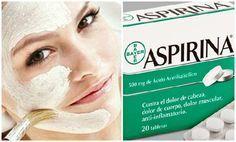 ¿Sabías que la aspirina puede ayudarte a cuidar de tu piel desde el exterior? ¡Aprende a elaborar este remedio caseros!