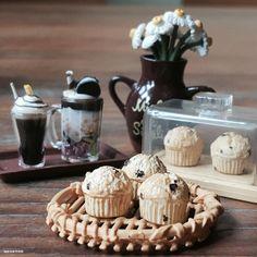 iPhone Gu : No.382 >>> [ IG - ooyoyoo ]  #toy #rement #miniature #tiny #dollhouse #toys #yotsuba #holiday #cute #food #house #mini #home #delicious #coffee