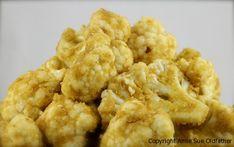 """Cauliflower dried into """"popcorn"""""""
