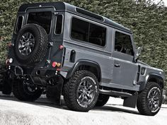 A. Kahn Design's Chelsea Truck Company has released a new aftermarket program for the Land Rover Defender.