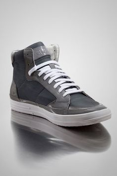 Looking for trendy mens shoes? Look no further as GUESS can give you what you need. GUESS designs are what sets them apart, and keep them at the top of the fashion world. I adore all Guess products like this MUDY HIGH-TOP SNEAKERS. Sleek patent is a high-end accent that makes these sneakers more than casual footwear. Don them with coated denim and a tailored blazer for a look that's urbanite chic.    Visit http://shop.guess.com/Catalog/Browse/Men/Shoes/
