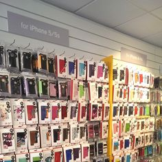 Mobile phone accessory packaging design, 32nd Shop, Devon, England, contemporary, design, retail interior