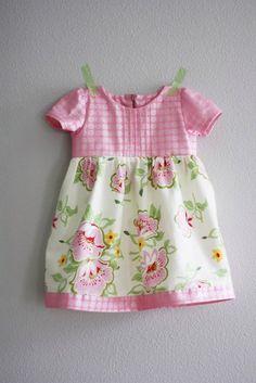 Шьем платьице для девочки. Мастер-класс... фото #1