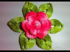 Crochet Brooch, Crochet Motif, Crochet Doilies, Crochet Flowers, Crochet Lace, Crochet Flower Tutorial, Easy Crochet Patterns, Crochet Designs, Pineapple Crochet