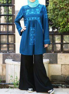 Hafsah Embroidered Top via www.shukronline.com #shukr