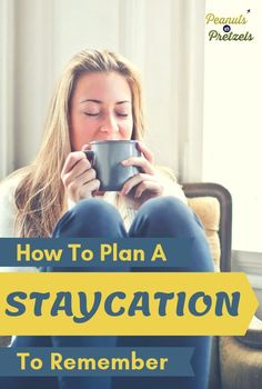 """You may not always have enough money or time to splurge on a vacation, but you can take a """"staycation."""" Even though it's a budget option, we'll show you how to plan a staycation that is both fun & memorable! Travel Advice, Travel Tips, Travel Articles, Travel Hacks, Budget Travel, Travel Usa, Travel Guides, Road Trip Planner, Travel Information"""