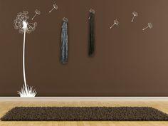 Flur gestalten Ideen selber machen Wandsticker
