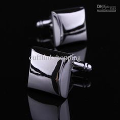 Wholesale XMAS GIFT Three-dimensional long square - French shirt sleeve silver solid male cuff links nail sleeve, Free shipping, $9.8-10.61/Pair | DHgate
