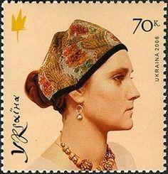 Ochipok 2 - Category:National costumes of Ukraine on stamps - Wikimedia Commons. Poltava