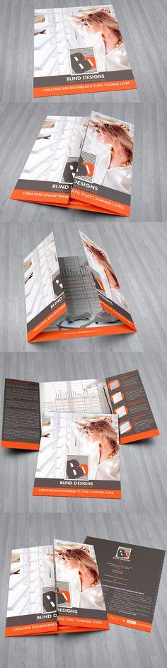 Square Gate Fold Brochure Mockup Mockup Brochures And Direct Mail