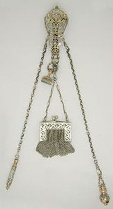 Victorian Sterling Silver Chatelaine-I think these should make a comeback