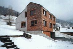 Peter Märkli - Einfamilienhaus Wolf, Triesenberg 2002