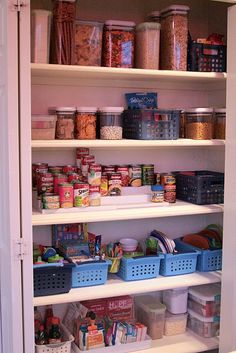 pantry organization ideas | Tips on pantry organization. | Tried It - Pinterest Ideas!