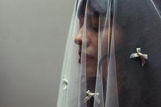 Items similar to VENUS VEIL - Handmade decorated with satin bows - Mantilla drop veil - Bohemian vintage style - For the unique bride and wedding on Etsy Drop Veil, Wild Spirit, Satin Bows, Wedding Veils, Beautiful Soul, Dress Backs, Venus, Lips Photo, Vintage Fashion