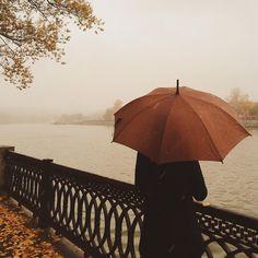 Rainy days of fall Autumn Rain, Autumn Cozy, Autumn Leaves, Living In London, Ivy House, Autumn Aesthetic, Parasol, Best Seasons, Aesthetic Images