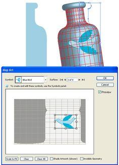 Day 23: Mapping Artwork | - Illustrator CS3 Tutorials & Tips