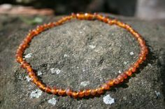 Amber Teething Necklace…totally works!