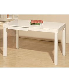 @Overstock.com - Student Desk White - Artlane desk is perfect for your student's study areaThis student desk features two drawers that can hold art and writing suppliesMake school work a little more enjoyable with this addition to your home decor  http://www.overstock.com/Home-Garden/Student-Desk-White/2542757/product.html?CID=214117 $208.99