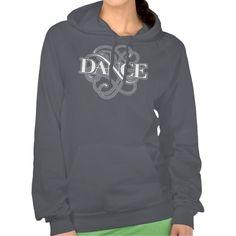 Dance Flourish Hooded Sweatshirts