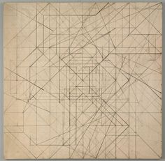 James Billmeyer (American), Geometric Abstraction, oil/canvas, c. 1940