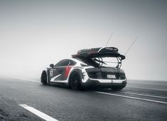 This Murdered Out Camo #AudiR8 Is Skier Jon Olsson's Sweet Ride. Hit the link for more pics....