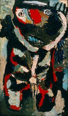 Wild Boy, 1954 by Karel Appel (Dutch 1921 – 2006)