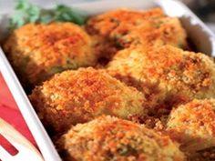 Zelné řízky ve zlatém obalu. Vegetarian, Russian Recipes, Vegan, Dishes, Vegetables, Cooking, Breakfast, Polish, Food