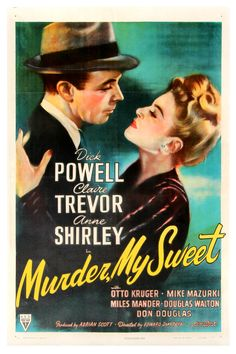 (CHANDLER, RAYMOND, Adapted from) MURDER, MY SWEET (1944) - Click Image to Close