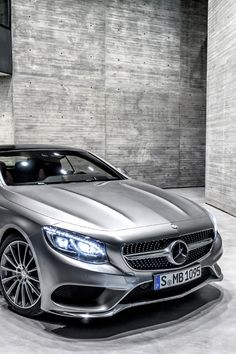 "f6afa36ad2 "" Today Mercedes-Benz presented first official pictures of the new S-Class  Coupé"