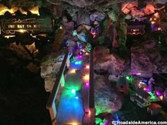 Rudolph Grotto and Wonder Cave, Rainbow Bridge Wisconsin Vacation, Rainbow Bridge, Cave, Road Trip, Road Trips, Caves, The Rainbow Bridge