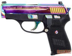 SIG SAUER Rainbow Titanium Finish P239 Pistol